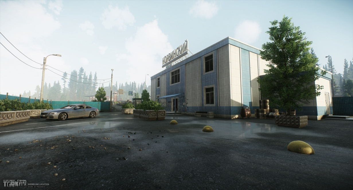 The Shoreline: the new screenshots of the location