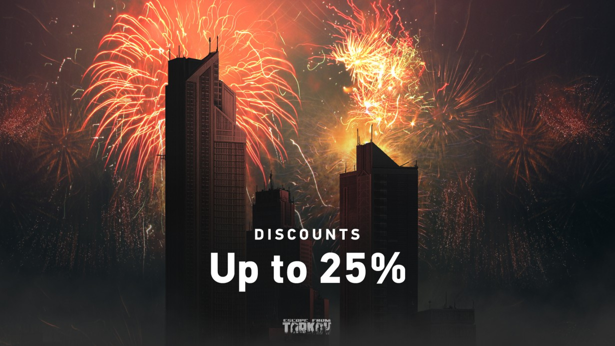 Victory Day Discounts have started!