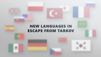 New languages in Escape from Tarkov