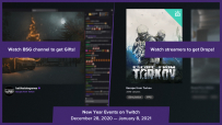 New Year Events on Twitch