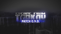 The 0.9 update of Escape from Tarkov