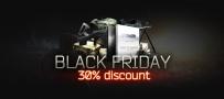 Black Friday: скидка 30% на предзаказы!