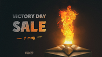 Holiday discounts in honor of Victory Day!